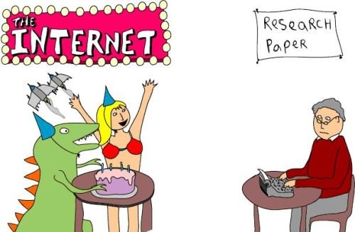 internet distractions