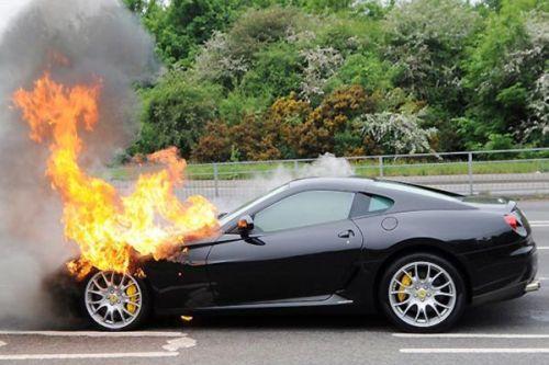super hot race car