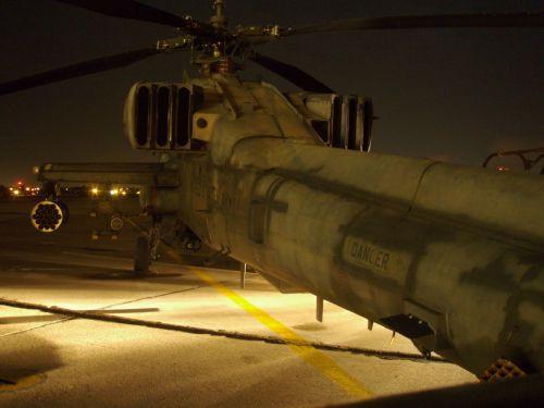 apache at night