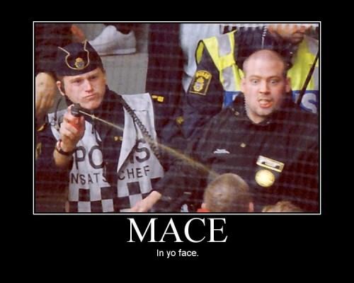 Mace In Yo Face