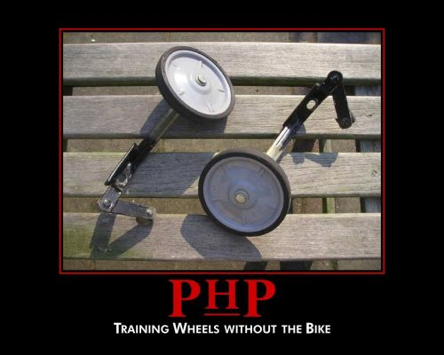 php - training wheels without the bike
