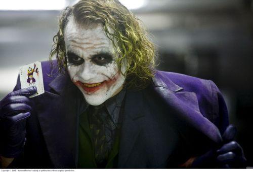 The Joker's Calling Card