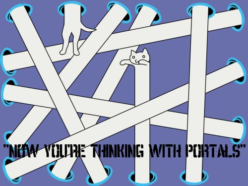 Now Your Thinking With Portals - And Longcat