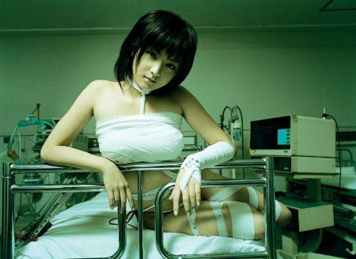 Wrapped Hospital Girl