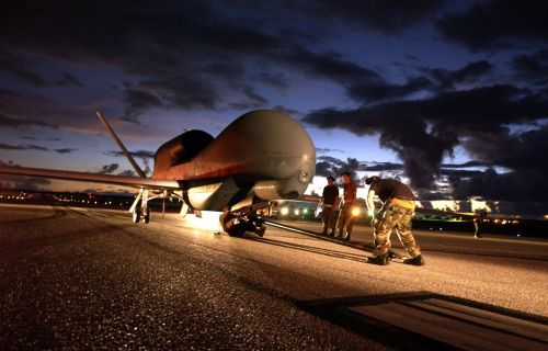 Global Hawk unmanned aircraft system