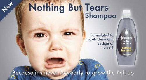 nothing but tears shampoo