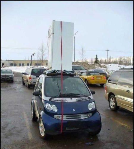 Smartcar With Fridge