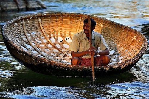 Woven Boat