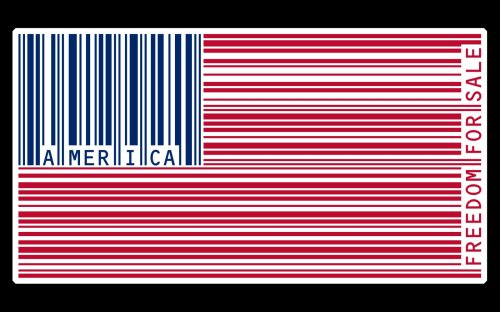America - Freedom for sale