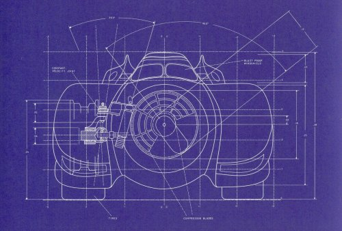 Batmobile Blueprints 4