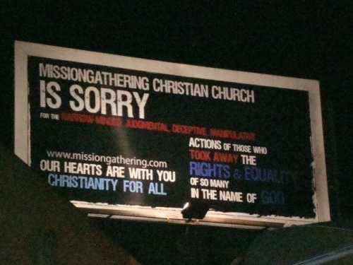church is sorry for bigotry