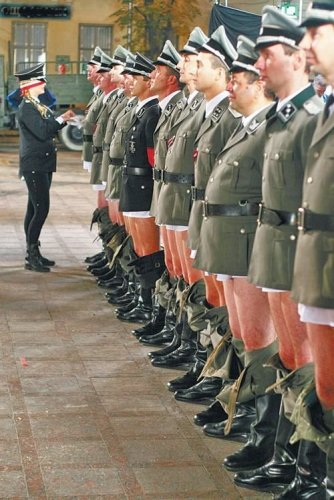 nazi penis inspection