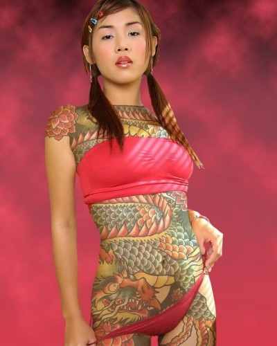 NSFW - Tattooed Asian