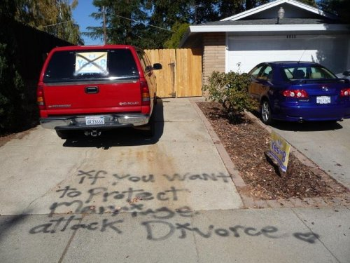if you want to protect marriage attack divorce