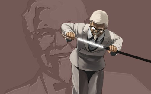 KFC - The Man Himself