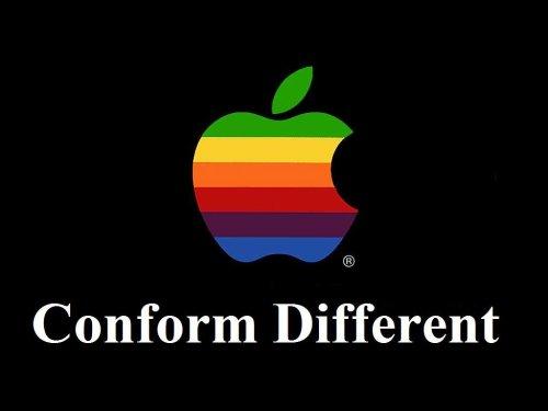 Conform Different - Apple
