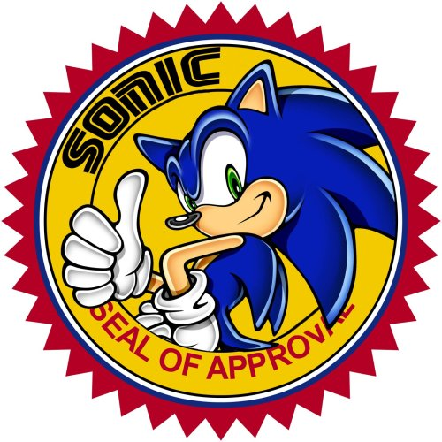 sonic seal of approval