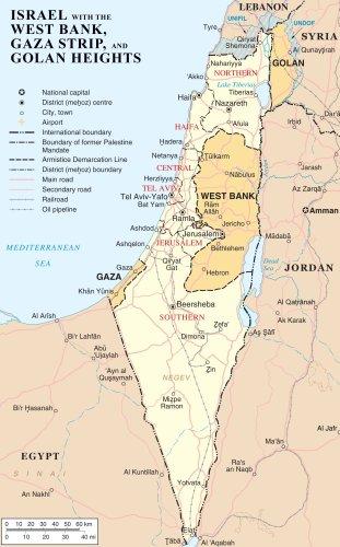 Israel Vs West Bank Vs Gaza Strip Vs Golan Geights
