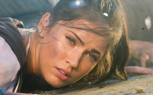 Megan Fox - Face down in the dirt