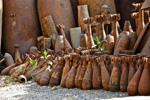 rusty bombs
