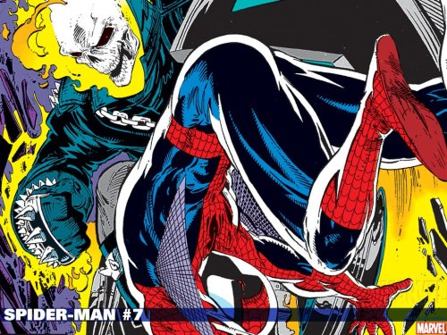 Spider-man #7 - Ghost Rider vs Spider-Man