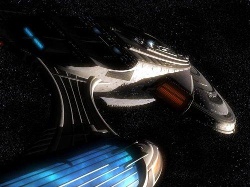 Star Trek - Enterprise E Off center