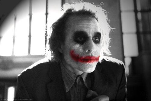 The Joker - Black and White