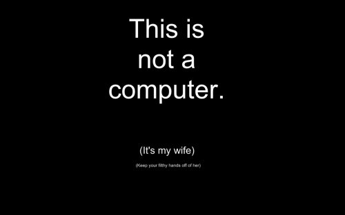 This Is Not A Computer