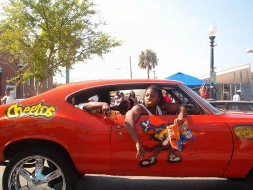Cheetos Car