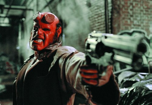 Hellboy's gun