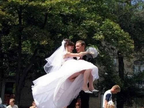 Wedding Upskirt