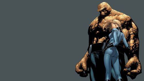 the thing and the invisible woman