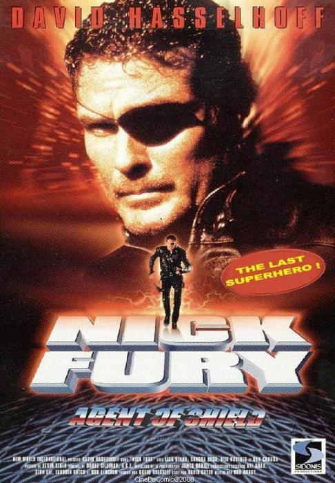 nick fury - agent of shield movie poster