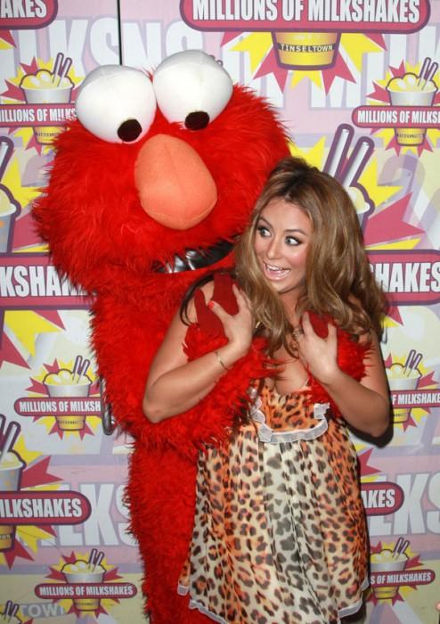 Aubrey O'Day vs Elmo