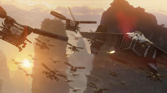 avatar - flying unit