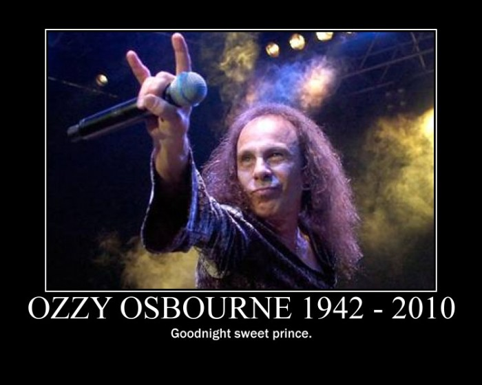 ozzy obourne has died