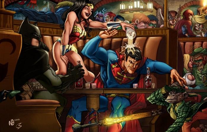 dc superhero bar