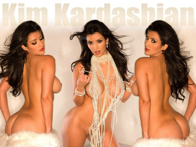 nsfw - kim kardashian wallpaper