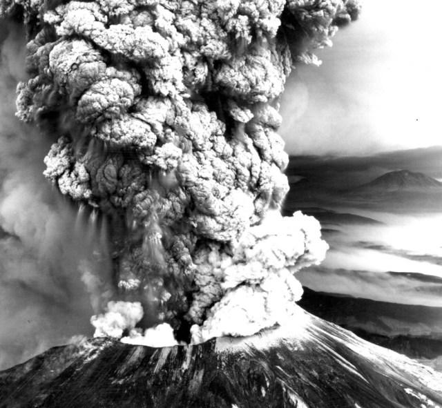 volcano blow