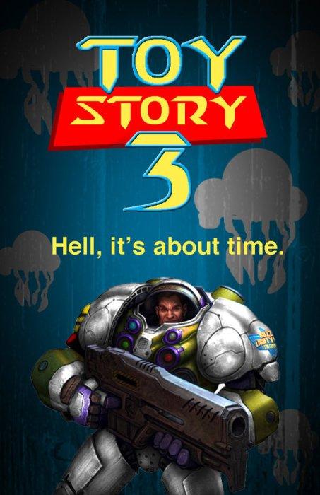 Toy Story 3 Starcraft version by reloadfreak