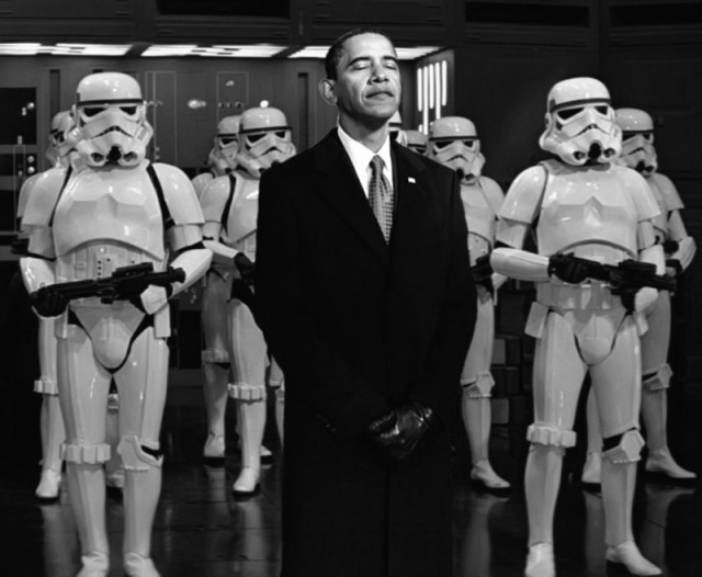 obama and his storm troopers