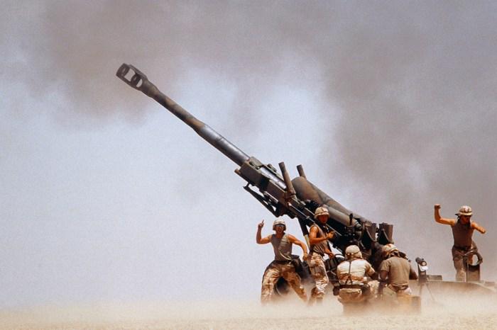 american artillery