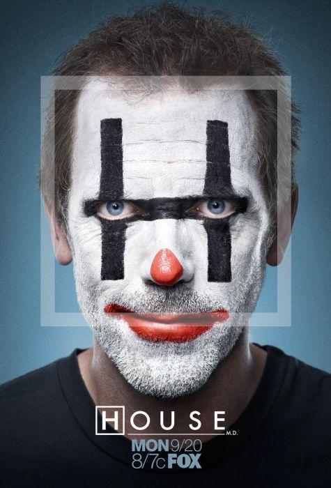 house is a clown