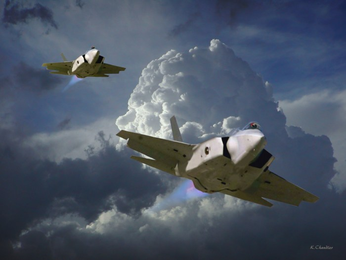 stealth jets