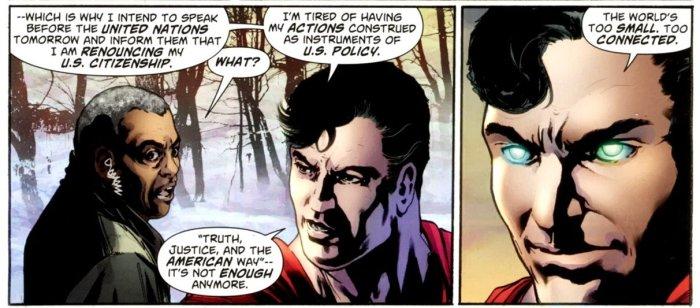 superman hates america