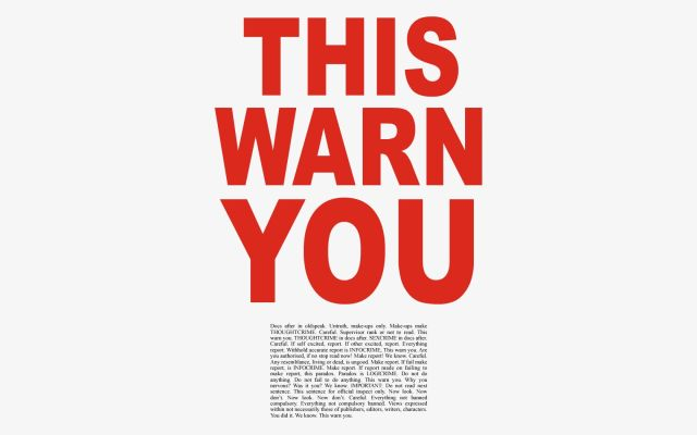 this warn you
