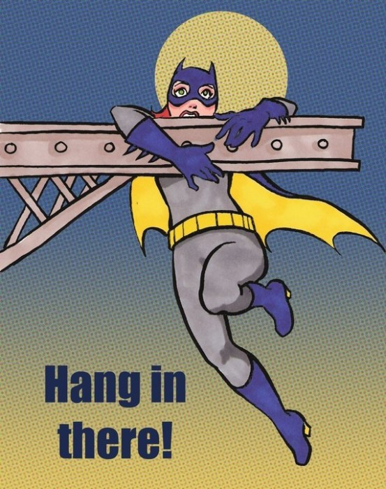 batgirl - hang in there