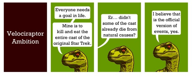 Velociraptor Ambition
