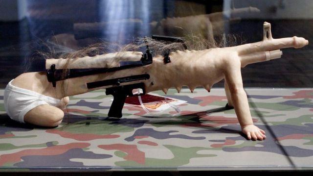 biological sniper gun