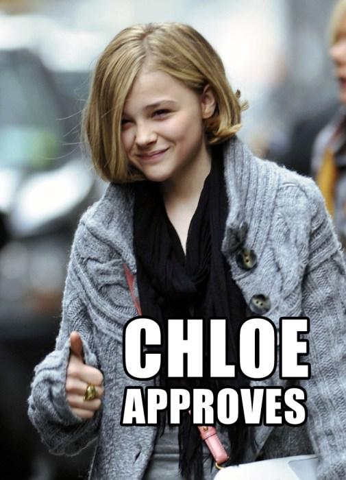 chloe approves